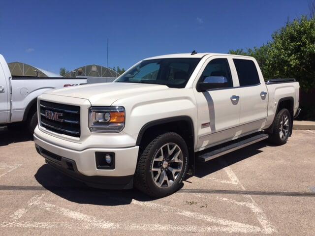 White Gmc Sierra >> 2014 White Diamond Tricoat Gmc Sierra 1500 Trucks