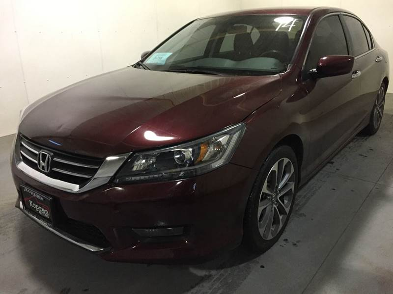 2014 Basque Red Pearl Ii Honda Accord