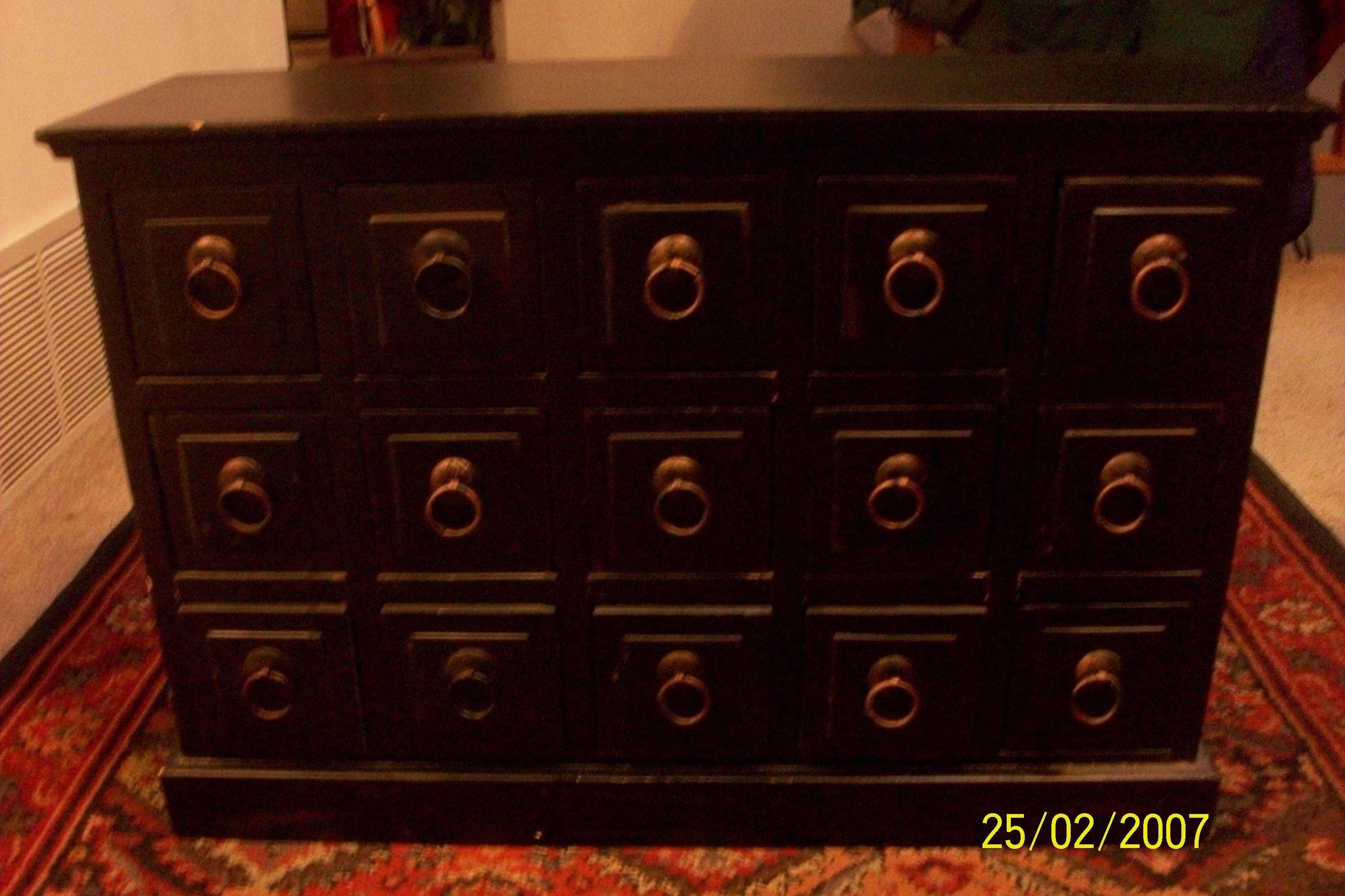 Docorative Vintage Cabinet image 1