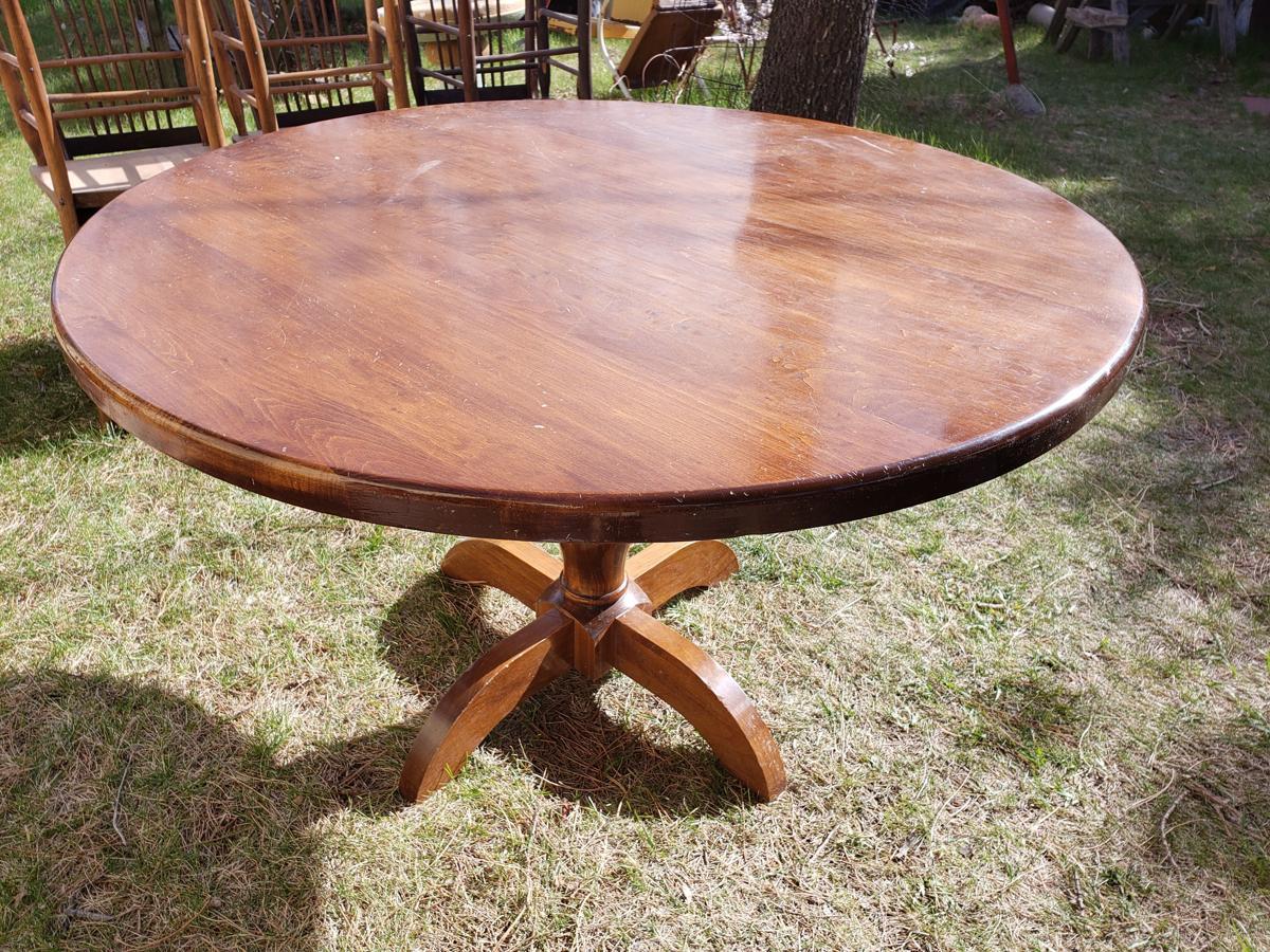 Pedestal Dining Table image 1
