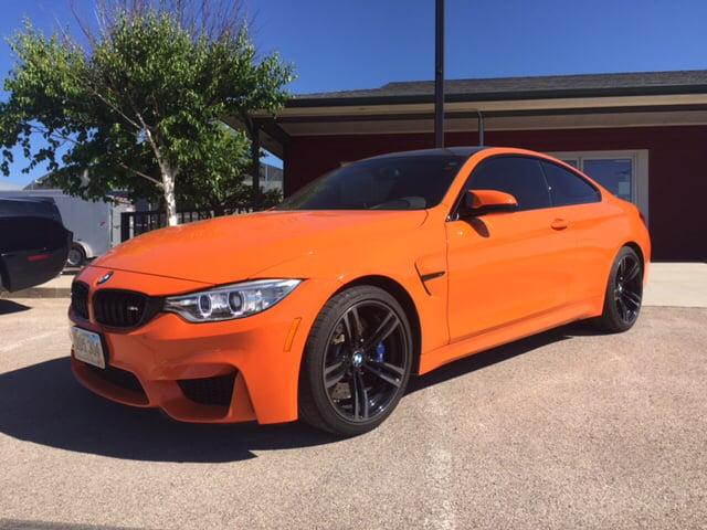 2015 Fire Orange Bmw M4 Coupes Rapidcityjournal Com