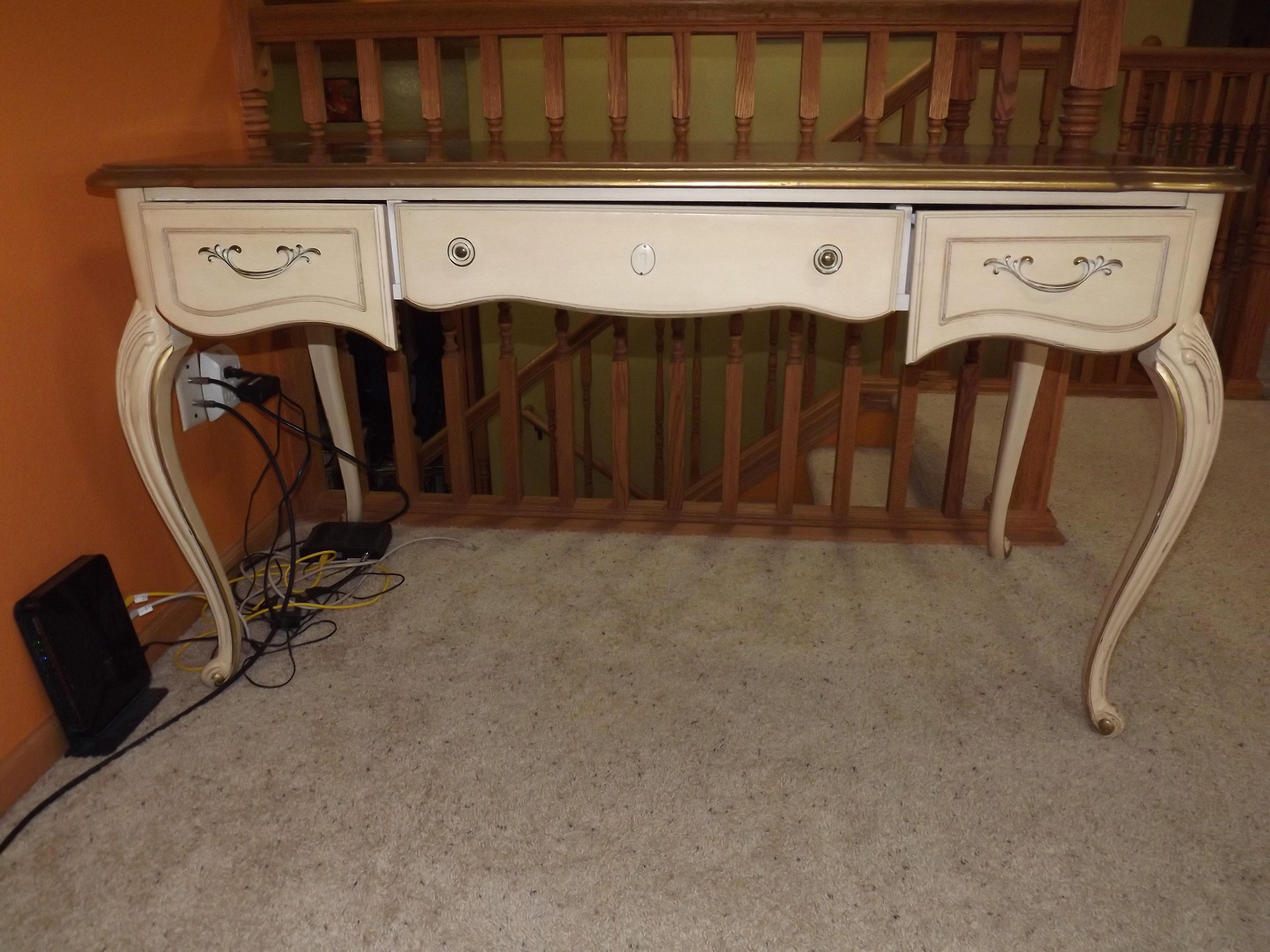 Gorgeous Antique Desk image 1