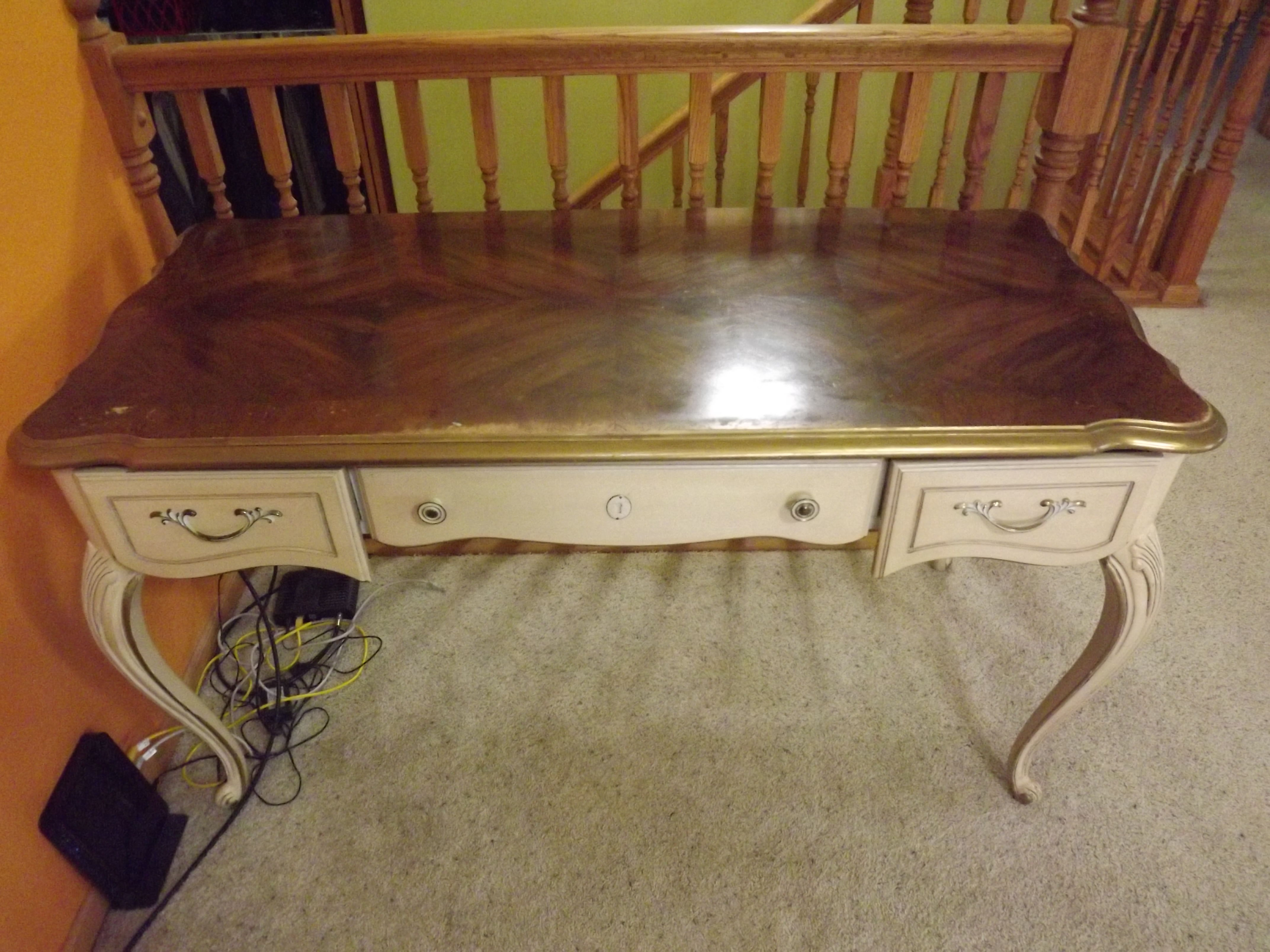 Gorgeous Antique Desk image 2