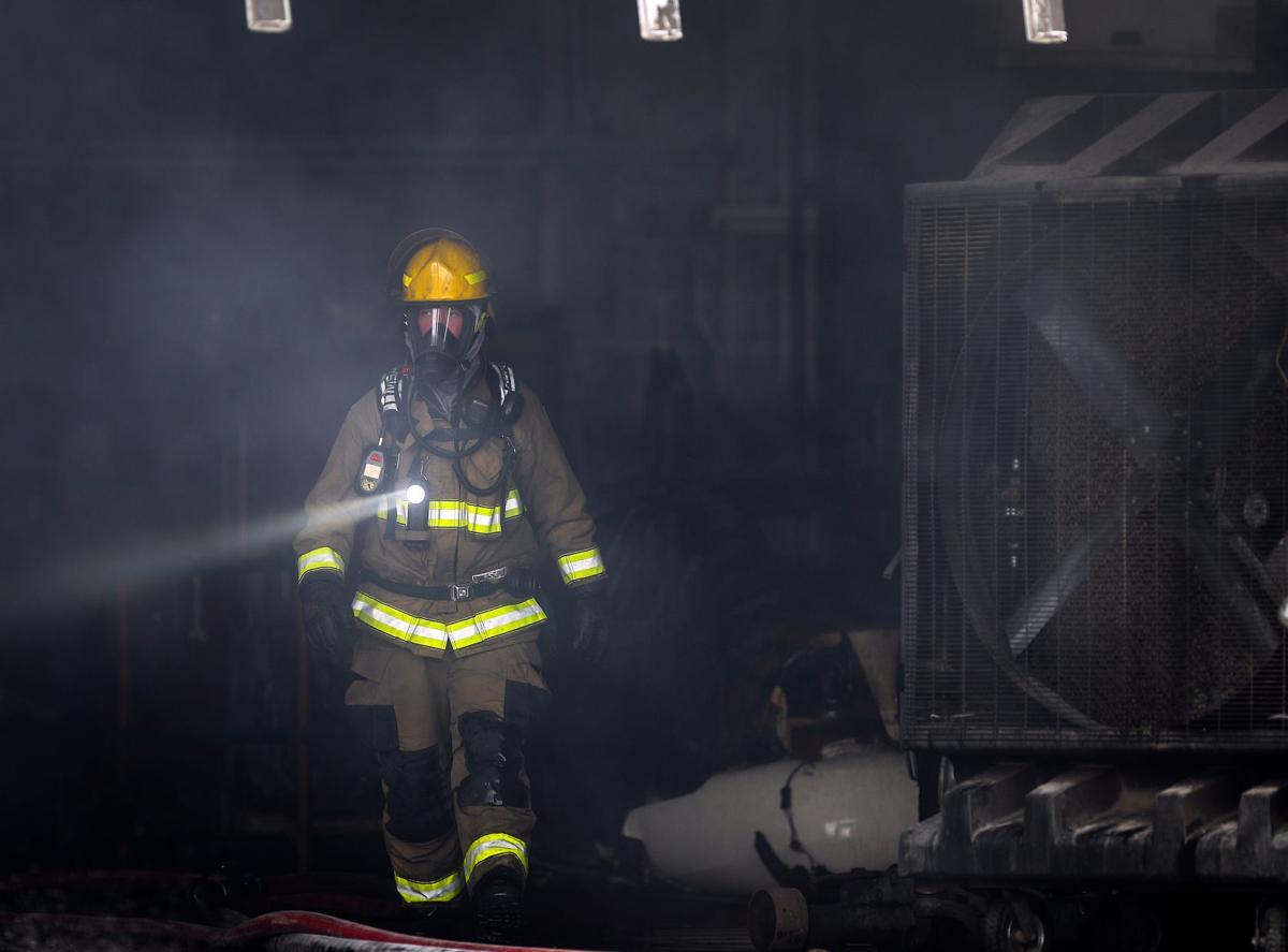 Uncle Milt's Alignment Services Fire