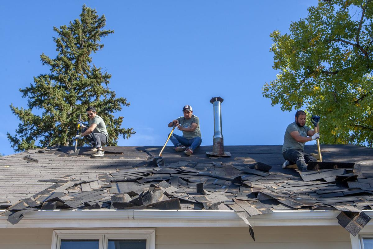 Late Summer Hail Storms Cause Surge In Roof Repairs News