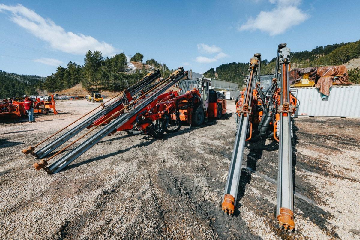 DUNE mining equipment