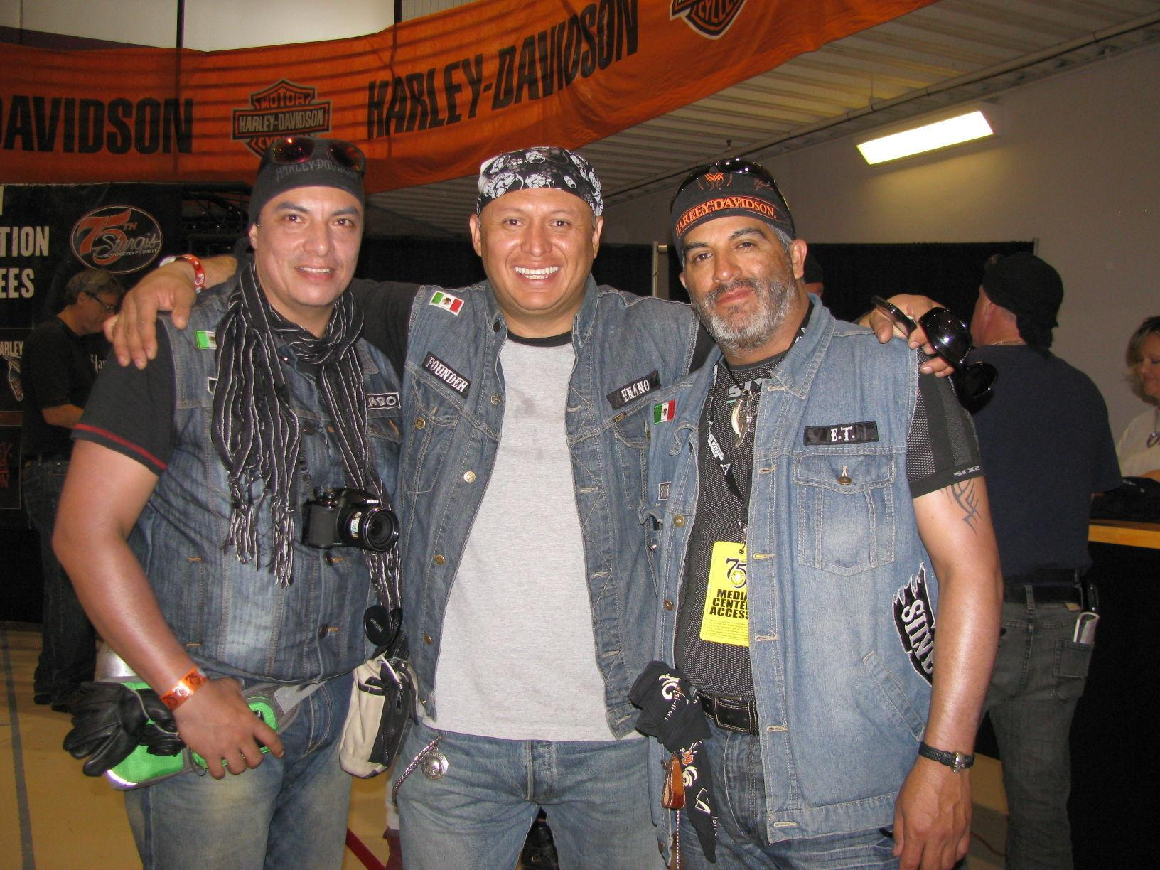 Mexican motorcyclists