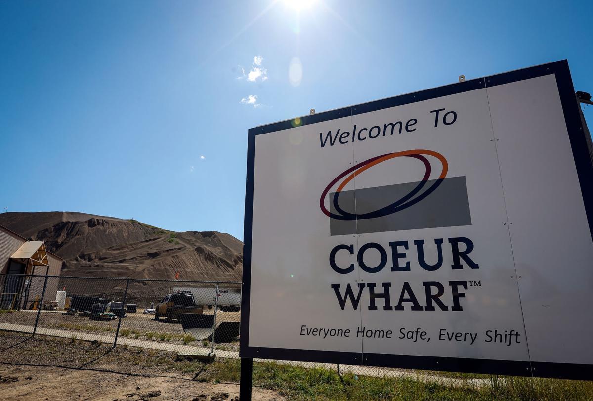 Wharf Mine sign