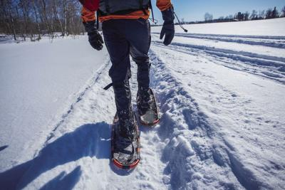 Lets Go Snowshoeing