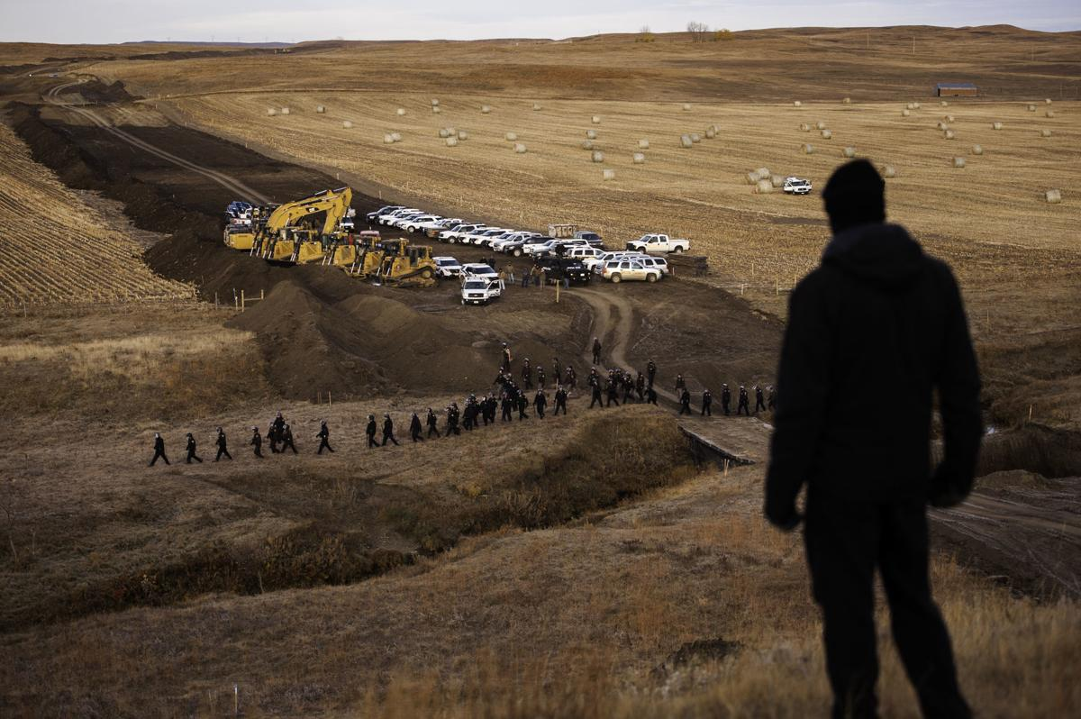 Protesters pepper-sprayed in North Dakota (copy)