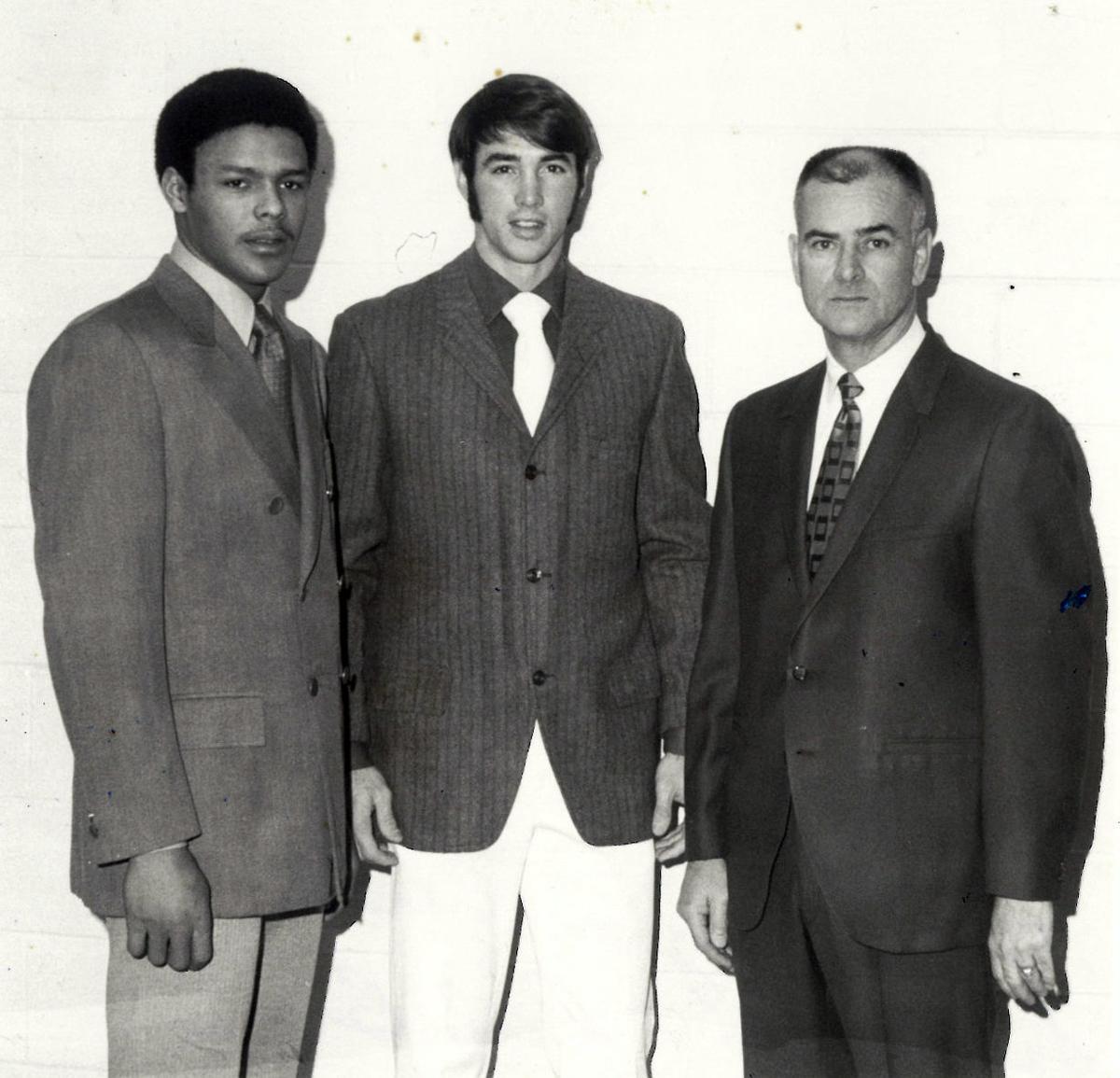 Mack Peyton with Scott Jones and Rick Brown