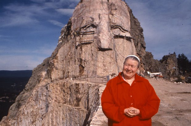 Used Cars Sioux Falls >> Ruth Ziolkowski, Crazy Horse sculptor's widow, dies