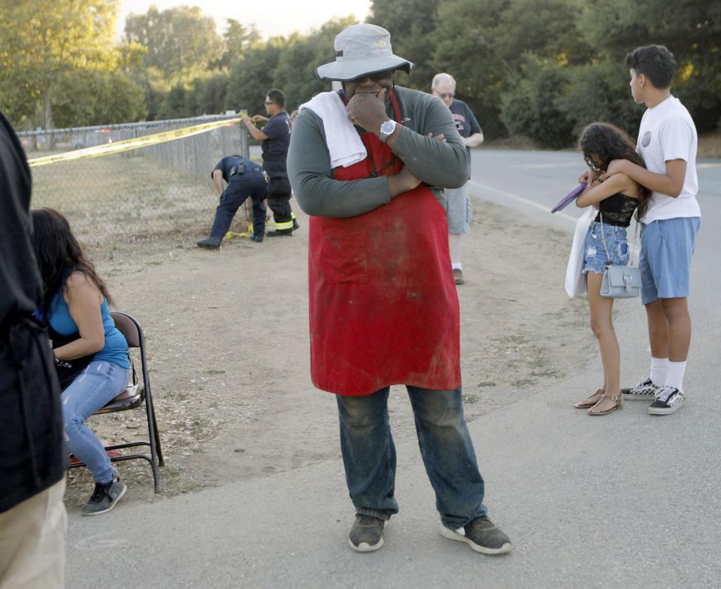 Christmas Hill Park California.Photos Shooting At California Garlic Festival Kills 3