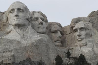 Mount Rushmore Climber