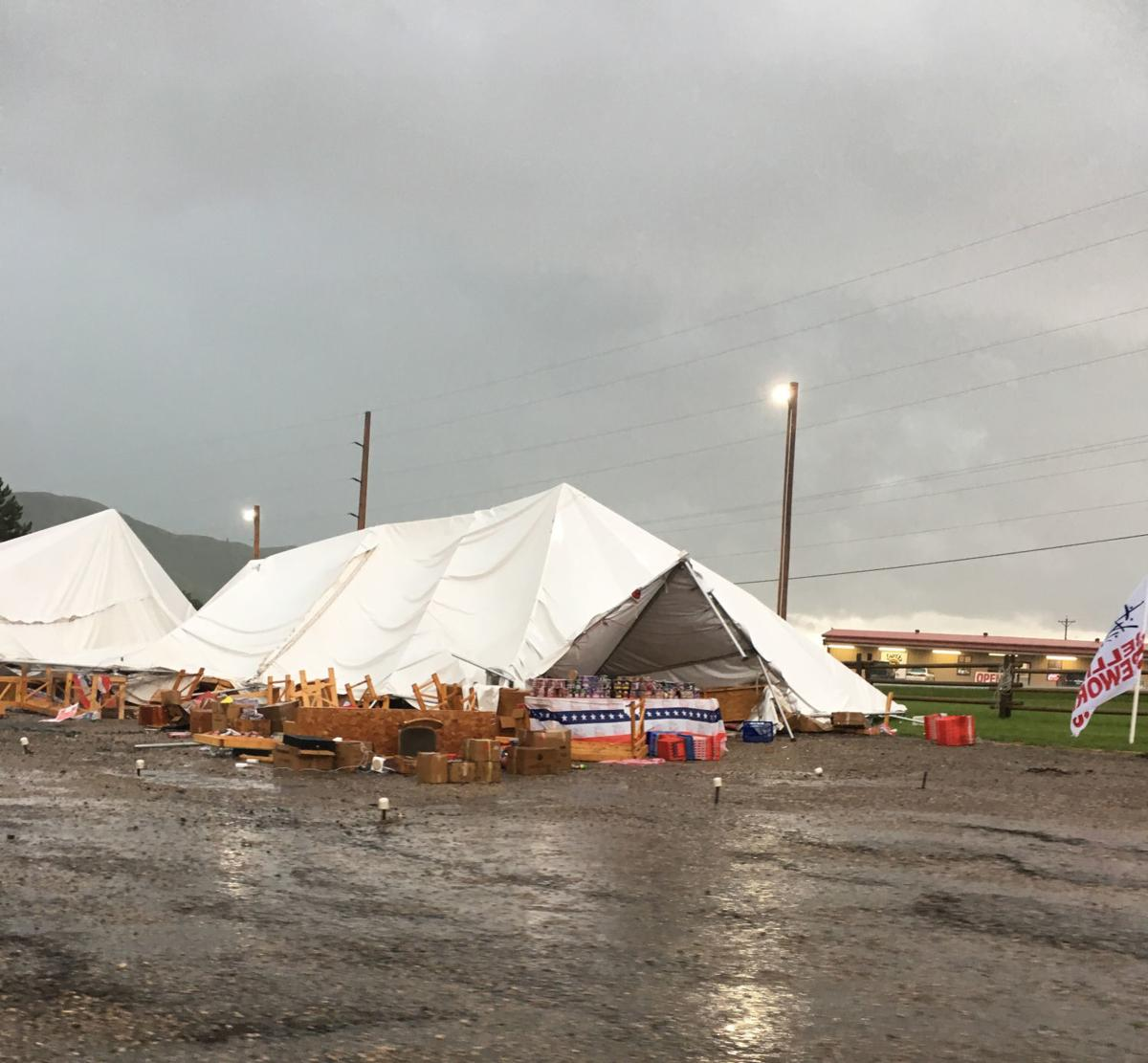 All Hail Breaks Loose On I-90: Storm Produces Tornadoes
