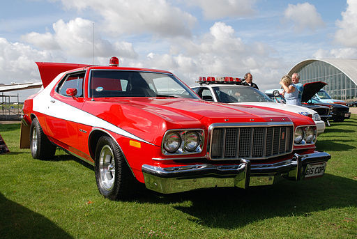 1975 1976 ford gran torino from starsky and hutch. Black Bedroom Furniture Sets. Home Design Ideas