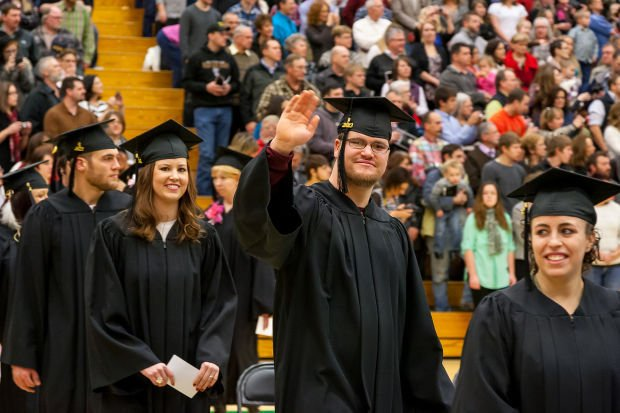 Black Hills State University graduates over 200 students during ...