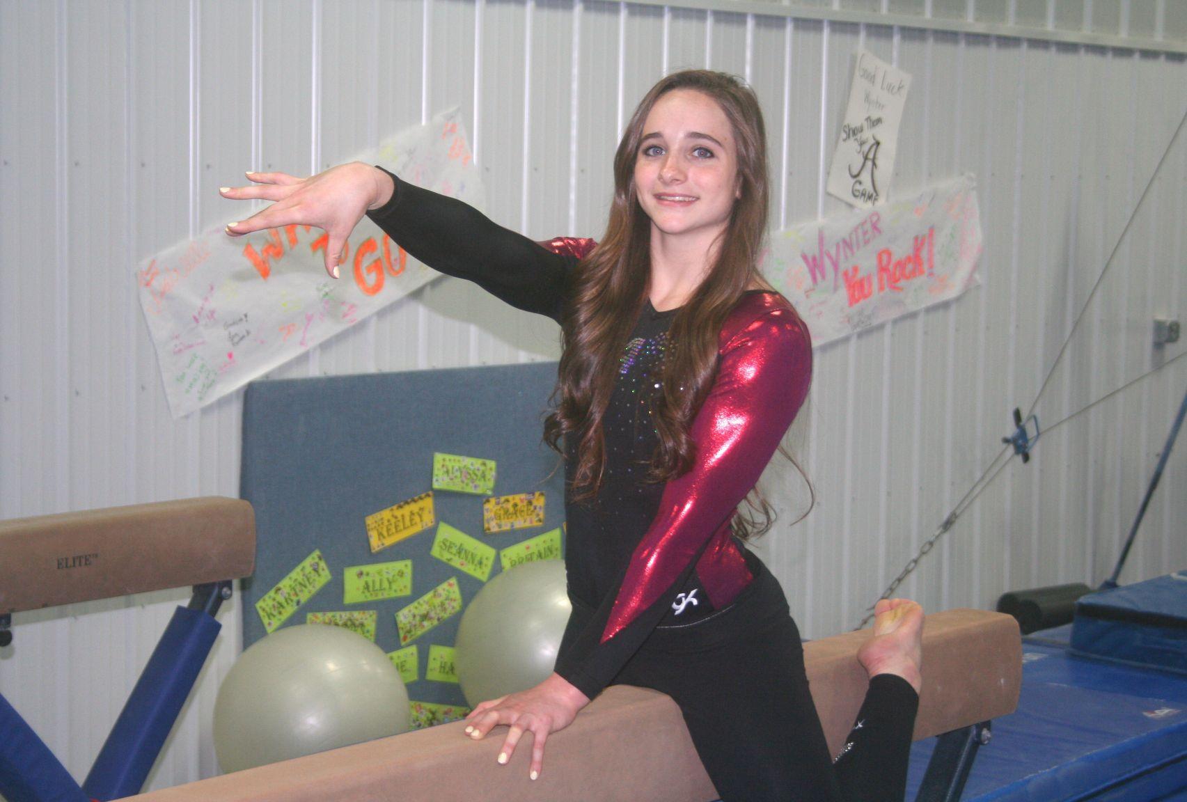 Gymnastics Childers combines hard work fun to