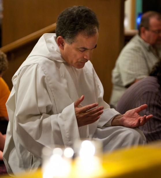 brother john prays