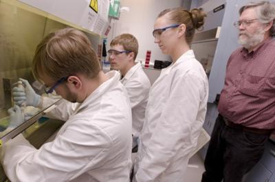 BHSU staff, students study Native medicinal plants to fight disease