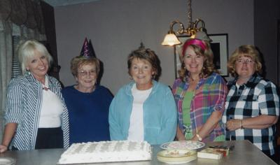 Mary Lou and her daughters
