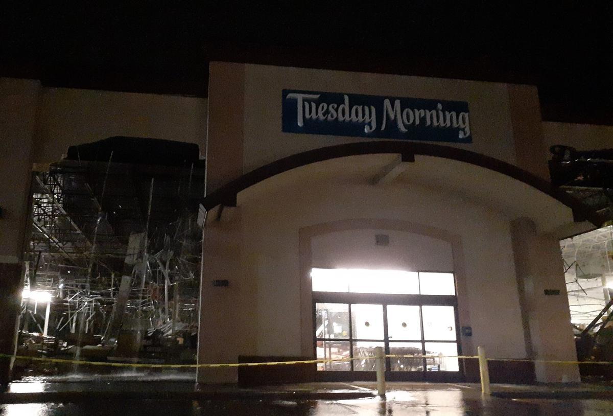 Tornado hits Sioux Falls
