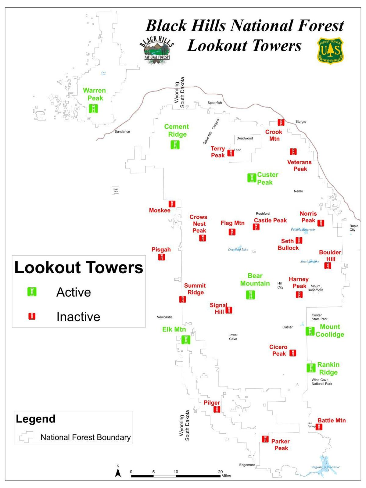 Holding on to historic towers Appreciation grows for fire lookouts