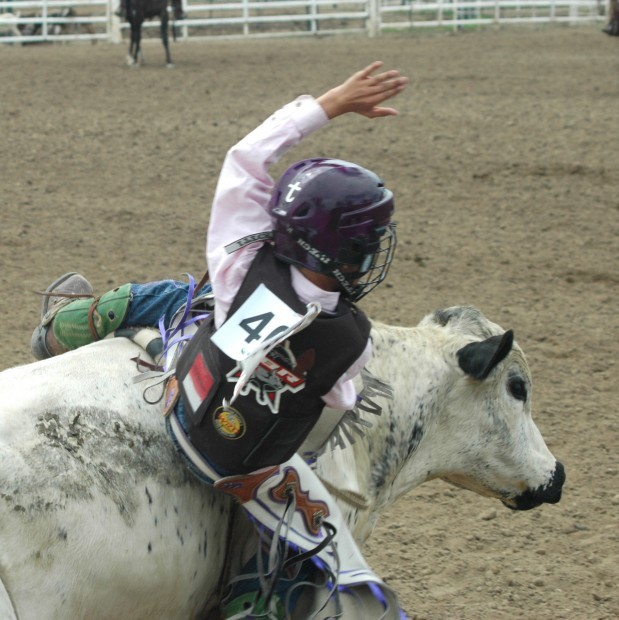 Little Britches Rodeo Draws Young Riders From Entire