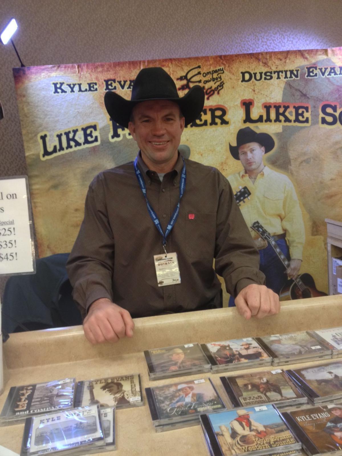 Stock show music man