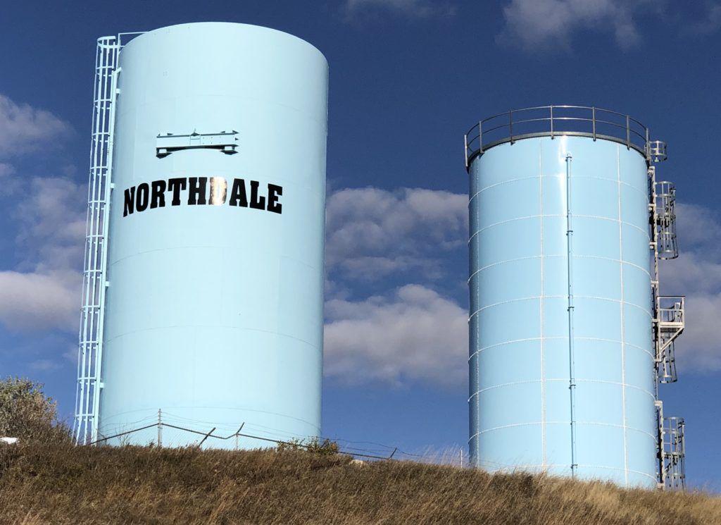 Northdale water towers