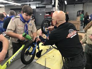 Black Hills Harley donates 375 Strider bikes to Rapid City schools