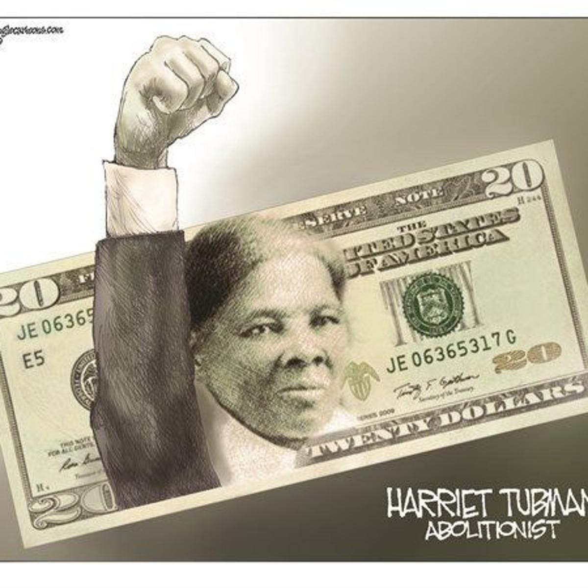 Robinson Harriet Tubman Fits The 20 Bill National Columnists Rapidcityjournal Com