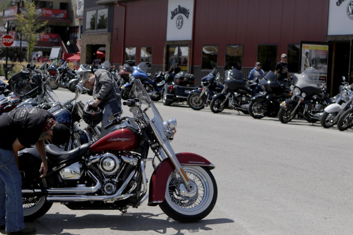 Motorcycles in Sturgis