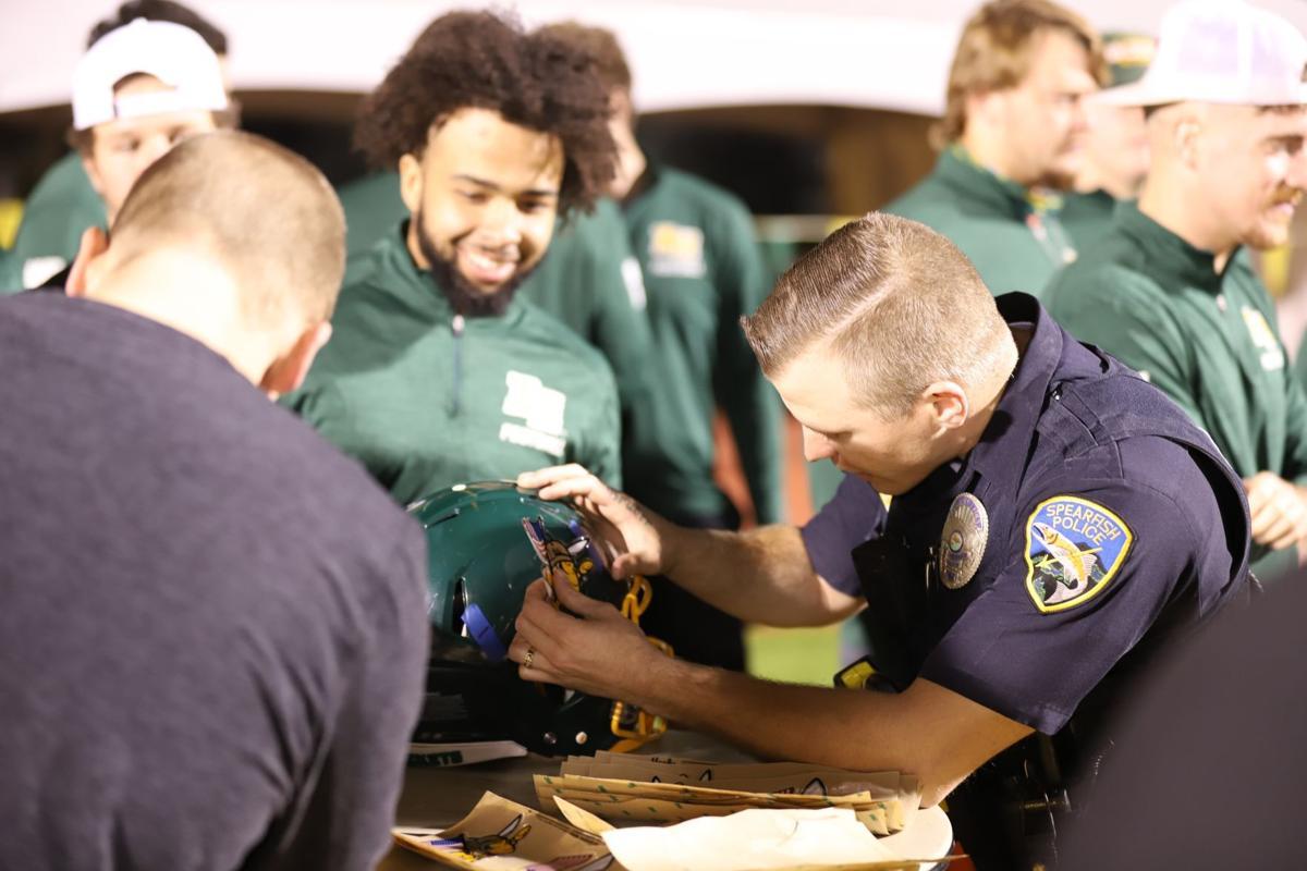 Officer helmet heroes