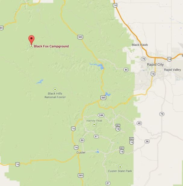 5 U.S. Forest Service campgrounds in the central Black Hills ...