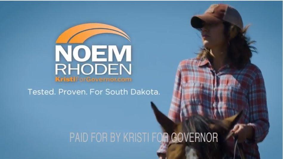 Kristi Noem governor ad