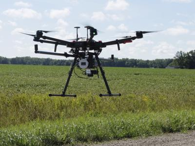 Exchange Drones Monitoring Ditches