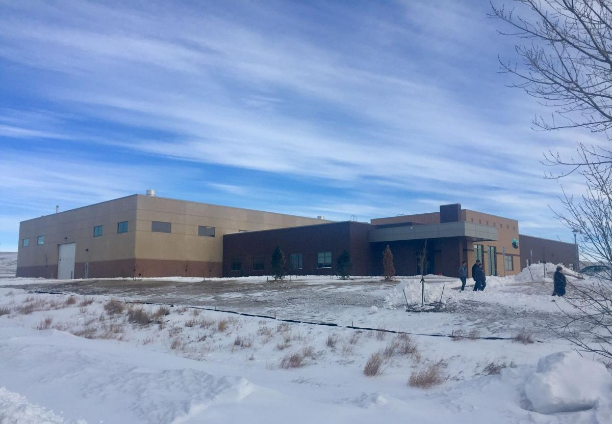 Badlands Hall at Western Dakota Technical Institute