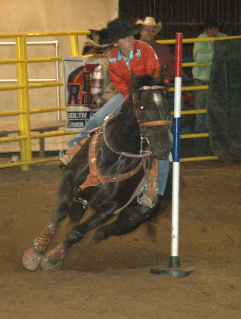 Junior High State Finals Rodeo Held At Seven Down Belle