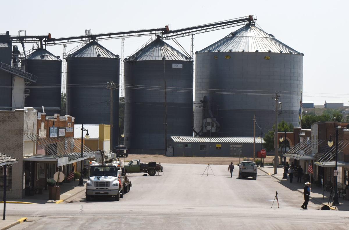 Crisis averted as crews stabilize downtown Philip grain bin   Local