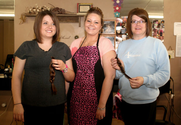 Mother Daughter Pair Get Locks Of Love Haircuts Belle
