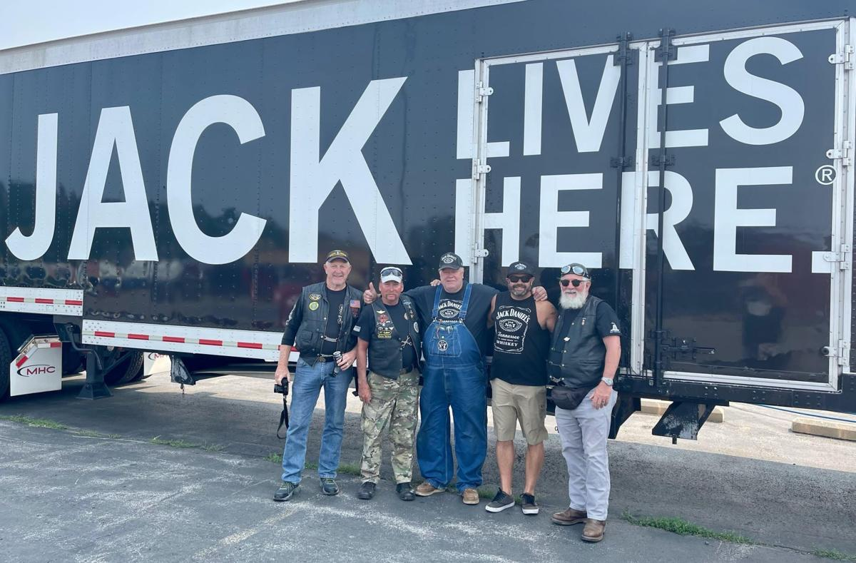 Jack Daniel's team with vets