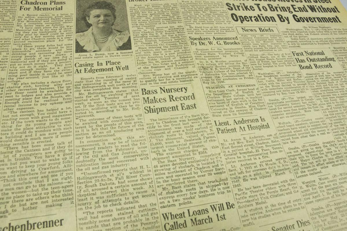 February 1st, 1946 - The Chadron Record