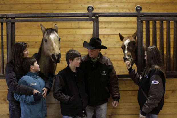 Riding High Tiny Oelrichs Counts Two World Class Rodeo