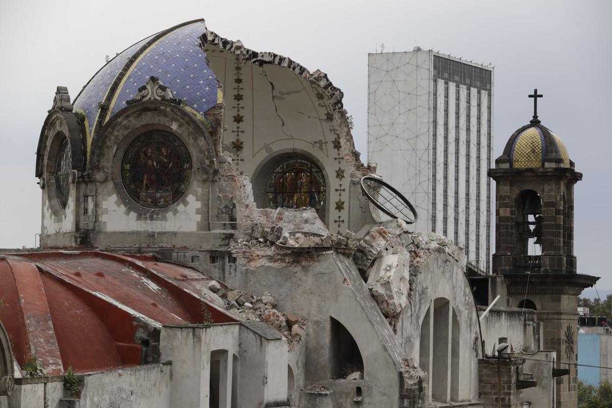 Mexico Earthquake Churches