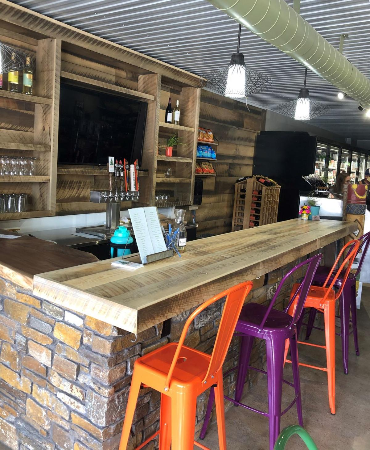Wild Spruce Market wine and beer bar
