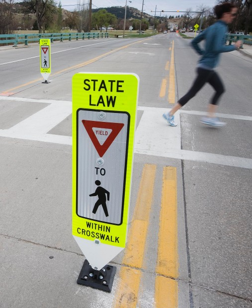 New Signs Aim To Make Pedestrian Crossings Safer