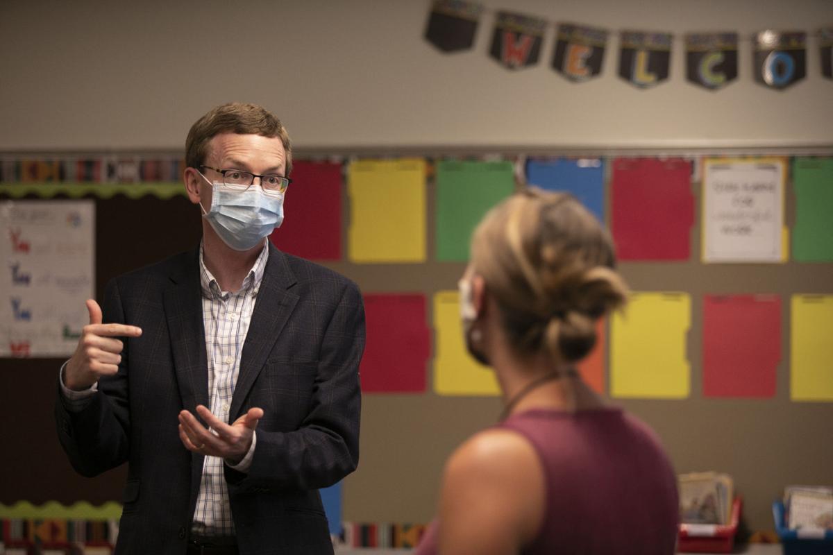 PHOTOS: Congressman Dusty Johnson's visit to Meadowbrook Elementary