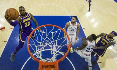 Lakers 76ers Basketball