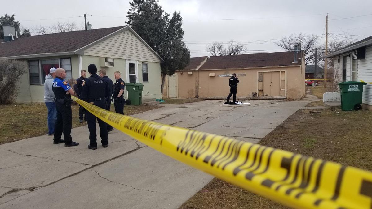 Signal Drive crime scene